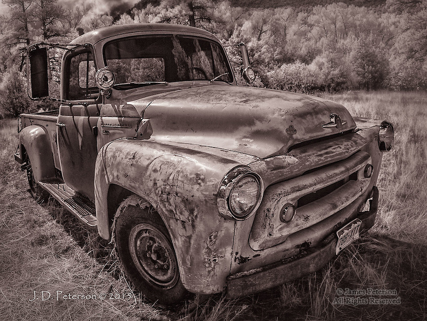 International Truck, near Ridgeway, CO (Infrared)