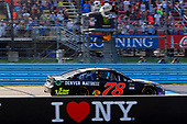 Monster Energy NASCAR Cup Series<br /> I LOVE NEW YORK 355 at The Glen<br /> Watkins Glen International, Watkins Glen, NY USA<br /> Sunday 6 August 2017<br /> Martin Truex Jr, Furniture Row Racing, Furniture Row/Denver Mattress Toyota Camry drives under the checkered flag to win<br /> World Copyright: Russell LaBounty<br /> LAT Images
