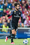 Isco Alarcon of Real Madrid in action during their 2016-17 UEFA Champions League Semifinals 2nd leg match between Atletico de Madrid and Real Madrid at the Estadio Vicente Calderon on 10 May 2017 in Madrid, Spain. Photo by Diego Gonzalez Souto / Power Sport Images