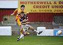31/10/2009  Copyright  Pic : James Stewart.sct_jspa09_motherwell_v_hearts  . :: ROSS FORBES SCORES MOTHERWELL'S GOAL :: .James Stewart Photography 19 Carronlea Drive, Falkirk. FK2 8DN      Vat Reg No. 607 6932 25.Telephone      : +44 (0)1324 570291 .Mobile              : +44 (0)7721 416997.E-mail  :  jim@jspa.co.uk.If you require further information then contact Jim Stewart on any of the numbers above.........