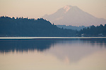 Mount Rainier, Silverdale, Washington State, Pacific Northwest, Seattle area, Deas Inlet, Puget Sound,