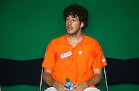 16-9-09, Netherlands,  Maastricht, Tennis, Daviscup Netherlands-France, Training, Robin Haase