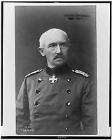 Gen. Otto von Below 1857-1944 <br /> photographed in 1917