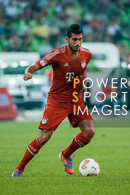 Emre Can of Bayern Munich in action during a friendly match against VfL Wolfsburg as part of the Audi Football Summit 2012 on July 26, 2012 at the Guangdong Olympic Sports Center in Guangzhou, China. Photo by Victor Fraile / The Power of Sport Images