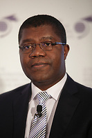 Thierry Zomahoun, Executive Director, African Institute for Mathematical Sciences (AIMS) Global Secretariat.<br />attend the International Economic Forum of the Americas 20th Edition, from June 9-12, 2014 <br /><br /> Photo : Agence Quebec Presse - Pierre Roussel
