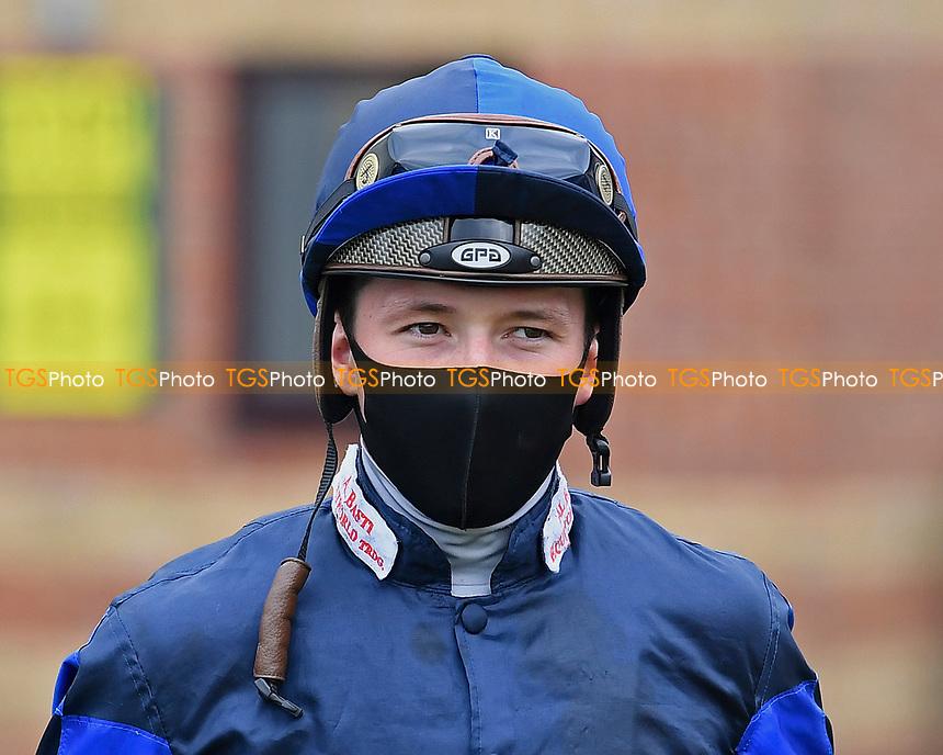Jockey Jason Watson during Horse Racing at Salisbury Racecourse on 11th September 2020