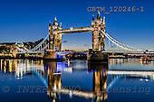 Tom Mackie, LANDSCAPES, photos, Britain, England, English, Europe, London, River Thames, Tower Bridge, UK, United Kingdom, bridgTower Bridge at Night, London, England, GBTM120246-1,#L#