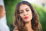 Hiba Abouk attends to the photocall of presentation of short film of Gas Natural Fenosa during Sitges Film Festival in Barcelona, Spain October 05, 2017. (ALTERPHOTOS/Borja B.Hojas)
