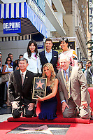 Ellen K is honored with the 2471st star on the Hollywood Walk of Fame. Los Angeles, California on 10.05.2012. PICTURED: Miranda Cosgrove, Ryan Seacrest, Kris Jenner, Leron Gubler, Ellen K, Tom LaBonge..Credit: Martin Smith/face to face /MediaPunch Inc. ***FOR USA ONLY***