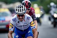 Julian Alaphilippe (FRA/Deceuninck-QuickStep)<br /> <br /> Stage 5: Megève to Megève (154km)<br /> 72st Critérium du Dauphiné 2020 (2.UWT)<br /> <br /> ©kramon
