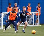 03.05.2019 Rangers training: Jermain Defoe and Stephen Kelly