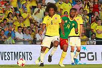 Colombia's Carlos Sanchez (l) and Cameroon's Georges Mandjeck during international friendly match. June 13,2017.(ALTERPHOTOS/Acero) (NortePhoto.com) (NortePhoto.com)