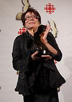 Montreal (Qc) CANADA, September 9, 2007 -<br /> Louise Forestier,<br /> Gala des Gemeaux, Palais des Congres de Montreal.<br /> <br /> photo : Pierre Roussel (c)