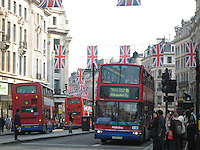 Bustling London, Royal Wedding Weekend