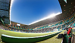 Top tier closed at Celtic Park today
