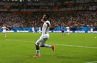 Daniel Sturridge of England celebrates scoring his goal to make the score 1-1