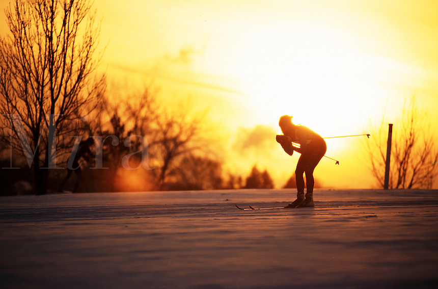 Cross country skier.