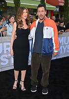 """LOS ANGELES, USA. June 11, 2019: Adam Sandler & Jackie Sandler at the premiere of """"Murder Mystery"""" at Regency Village Theatre, Westwood.<br /> Picture: Paul Smith/Featureflash"""