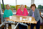 Residents of Aspree Nursing Home in Camp enjoying the Mary Coughlan concert on Monday, l to r: Kathleen Brown, Ina Trant and Bridget McGovern.