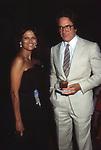 CLAUDIA CARDINALE CON WARREN BEATTY<br /> PREMIO DAVID DI DONATELLO ROMA 1982