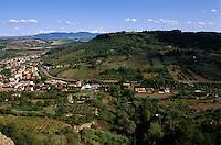 Italien, Umbrien, Blick vom Fortezza in Orvieto