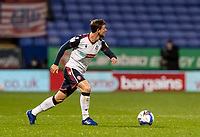 Bolton Wanderers' Andrew Tutte breaks<br /> <br /> Photographer Andrew Kearns/CameraSport<br /> <br /> The EFL Sky Bet League Two - Bolton Wanderers v Salford City - Friday 13th November 2020 - University of Bolton Stadium - Bolton<br /> <br /> World Copyright © 2020 CameraSport. All rights reserved. 43 Linden Ave. Countesthorpe. Leicester. England. LE8 5PG - Tel: +44 (0) 116 277 4147 - admin@camerasport.com - www.camerasport.com