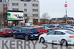 Families  enjoying the drive in cinema in the INEC car park on Friday night