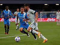 Dries Mertens during a friendly match Napoli - Pescara  at Stadio San Paoli in Naples