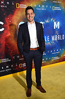 """LOS ANGELES - FEBRUARY 26: Joe Micucci attends National Geographic's 2020 Los Angeles premiere of """"Cosmos: Possible Worlds"""" at Royce Hall on February 26, 2020 in Los Angeles, California. Cosmos: Possible Worlds premieres Monday, March 9 at 8/7c on National Geographic. (Photo by Frank Micelotta/National Geographic/PictureGroup)"""