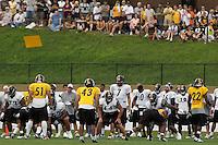 Ben Roethlisberger, Pittsburgh Steelers quarterback. Training camp, August 11, 2011 at Latrobe, Pennsylvania.