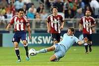 Sporting Kansas City vs Club Deportivo Chivas USA July 09 2011