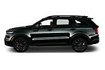 Car Driver side profile view of a 2021 KIA Sorento SX 5 Door SUV Side View