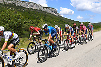 8th July 2021; Nimes, France;ERVITI Imanol (ESP) of MOVISTAR TEAM  during stage 12 of the 108th edition of the 2021 Tour de France cycling race, a stage of 159,4 kms between Saint-Paul-Trois-Chateaux and Nimes.