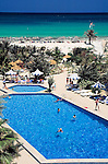Tunisia, Djerba: Palm Beach Hotel, swimming pool