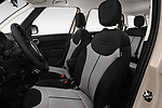 Front seat view of 2016 Fiat 500L Trekking 5 Door Mini MPV Front Seat  car photos