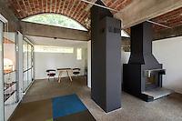 Casa Citron Carona; Beni Culturali Bellinzona; Atelier 5 Bern. Modern Architecture, Erwin Fritz, Samuel Gerber, Rolf Hesterberg, Hans Hostettler, Alfredo Pini, Le Corbusier, New Brutalism