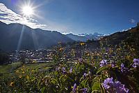 Peaks of the Cordillera Huayhuash mountain range, Andes, Peru, South America