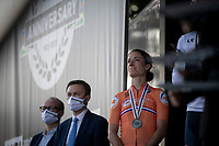 Although 2nd, Marianne Vos (NED/Jumbo-Visma) couldn't hide her disappointment afterward.<br /> <br /> Women Elite - Road Race (WC)<br /> from Antwerp to Leuven (158km)<br /> <br /> UCI Road World Championships - Flanders Belgium 2021<br /> <br /> ©kramon
