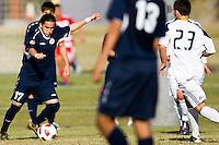 2010 US Soccer Development Academy Winter Showcase U17/18 LA Galaxy vs Andromeda at Reach 11 Soccer Complex in Phoenix, Arizona in December of  2010.