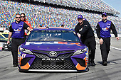 Monster Energy NASCAR Cup Series<br /> The Advance Auto Parts Clash<br /> Daytona International Speedway, Daytona Beach, FL USA<br /> Sunday 11 February 2018<br /> Denny Hamlin, Joe Gibbs Racing, FedEx Express Toyota Camry<br /> World Copyright: Nigel Kinrade<br /> LAT Images