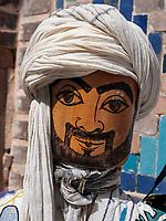 Puppe, Souvenirs am Registan, Samarkand, Usbekistan, Asien<br /> puppet, Souvenir at Registan, Samarkand, Uzbekistan, Asia