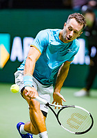 Rotterdam, The Netherlands, 12 Februari 2019, ABNAMRO World Tennis Tournament, Ahoy, first round singles: Philipp Kohlschreiber (GER),<br /> Photo: www.tennisimages.com/Henk Koster