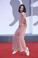 Sara Ciocca attending the America Latina Premiere as part of the 78th Venice International Film Festival in Venice, Italy on September 09, 2021. <br /> CAP/MPI/IS/PAC<br /> ©PAP/IS/MPI/Capital Pictures