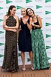 Nieves Alvarez, Judit Masco and Ariadne Artiles attend the 'Enfasis Black' swimsuit collection launch at the Wellington Hotel in Madrid, Spain. April 20, 2017. (ALTERPHOTOS/Rodrigo Jimenez)