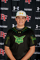 Alec Barrett during the Under Armour All-America Tournament powered by Baseball Factory on January 17, 2020 at Sloan Park in Mesa, Arizona.  (Mike Janes/Four Seam Images)