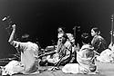 Ravi Shankar, Indian Musician reheasing with his Sitar 8/88 CREDIT Geraint Lewis