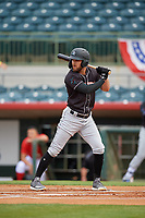 Jupiter Hammerheads Riley Mahan (2) at bat during a Florida State League game against the Florida Fire Frogs on April 8, 2019 at Osceola County Stadium in Kissimmee, Florida.  Florida defeated Jupiter 7-6 in ten innings.  (Mike Janes/Four Seam Images)