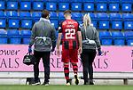 St Johnstone v St Mirren……29.08.20   McDiarmid Park  SPFL<br />Marcus Fraser goes off injured<br />Picture by Graeme Hart.<br />Copyright Perthshire Picture Agency<br />Tel: 01738 623350  Mobile: 07990 594431
