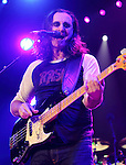 Geddy Lee of the Canadian rock band RUSH performs at the Giant Center in Hershey, Pa. April 8, 2011..Copyright EML/Rockinexposures.com.