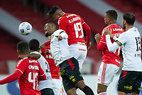30th May 2021; Beira-Rio, Porto Alegre, Brazil; Brazilian Serie A, Internacional versus Sport Recife; Rodrigo Lindoso of Internacional climbs to win the header and scores his goal in the 44th minute 2-0